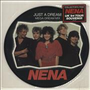 Click here for more info about 'Nena - Just A Dream - Stickered sleeve'
