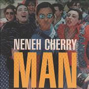 Click here for more info about 'Neneh Cherry - Man + Press Sheet'