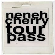 Click here for more info about 'Neneh Cherry - Tour Pass'