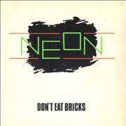 Click here for more info about 'Neon - Don't Eat Bricks'