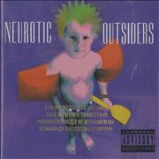 Click here for more info about 'Neurotic Outsiders - Neurotic Outsiders - Gold promo stamped'