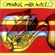 "Neutral Milk Hotel Everything Is UK 7"" vinyl"
