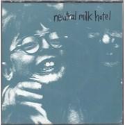 """Neutral Milk Hotel Everything Is USA 7"""" vinyl"""