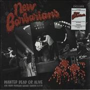 Click here for more info about 'New Barbarians - Wanted Dead or Alive - Arctic Blast Black & White Swirl Vinyl'