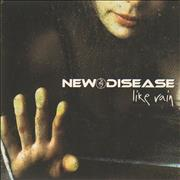 Click here for more info about 'New Disease - Like Rain - Autographed'