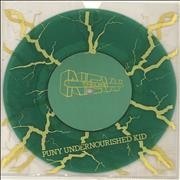 Click here for more info about 'New England - Puny Undernourished Kid - Green Vinyl'