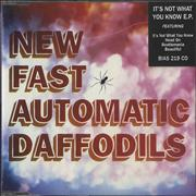 Click here for more info about 'New Fast Automatic Daffodils - It's Not What You Know EP'