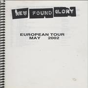 Click here for more info about 'New Found Glory - European Tour'