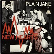 Click here for more info about 'New Hearts - Plain Jane'