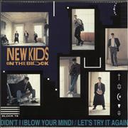Click here for more info about 'New Kids On The Block - Let's Try It Again / Didn't I [Blow Your Mind]'