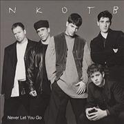 Click here for more info about 'New Kids On The Block - Never Let You Go'
