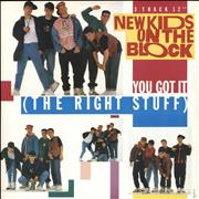 Click here for more info about 'New Kids On The Block - You Got It [The Right Stuff]'