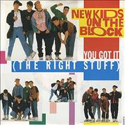 Click here for more info about 'New Kids On The Block - You Got It (The Right Stuff)'