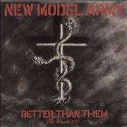 Click here for more info about 'New Model Army - Better Than Them EP'