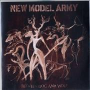 Click here for more info about 'New Model Army - Between Dog And Wolf'