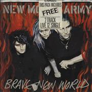 Click here for more info about 'New Model Army - Brave New World - Double Pack'