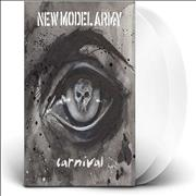 Click here for more info about 'New Model Army - Carnival - Redux -  White Vinyl - Sealed'