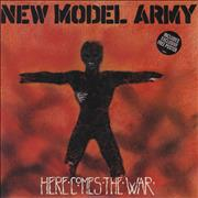 Click here for more info about 'New Model Army - Here Comes The War + Poster'