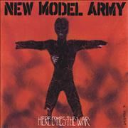 Click here for more info about 'New Model Army - Here Comes The War'