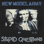 Click here for more info about 'New Model Army - Stupid Questions - Poster Sleeve'