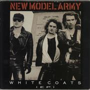 Click here for more info about 'New Model Army - White Coats E.P.'