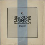 Click here for more info about 'New Order - Ceremony - 2nd + Shrink'
