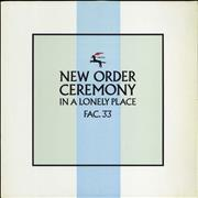 Click here for more info about 'New Order - Ceremony - 2nd'