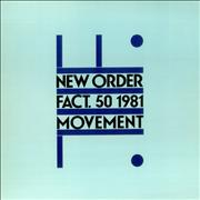 New Order Movement Italy vinyl LP