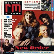 Click here for more info about 'New Order - Record Mirror'