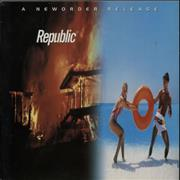 Click here for more info about 'New Order - Republic - EX'