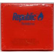 New Order Republic - The Limited Run - blue titles USA CD album