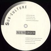 Click here for more info about 'New Order - Sub-Culture'