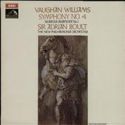 Click here for more info about 'New Philharmonia Orchestra - Vaughan Williams: Symphony No. 4/ Norfolk Rhapsody No. 1 - S/C'