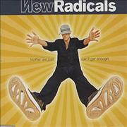 Click here for more info about 'New Radicals - Mother We Just Can't Get Enough'