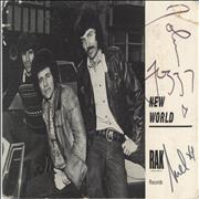 New World Signed Photo UK photograph