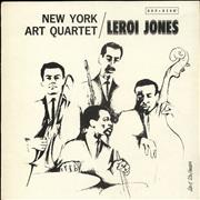 Click here for more info about 'New York Art Quartet - New York Art Quartet / LeRoi Jones - Promo'