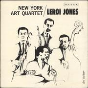Click here for more info about 'New York Art Quartet - New York Art Quartet / LeRoi Jones'