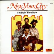 Click here for more info about 'New York City - I'm Doin' Fine Now'