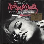 Click here for more info about 'New York Dolls - Live From Royal Festival Hall, 2004 - 180gram Vinyl + Numbered Sleeve - Sealed'