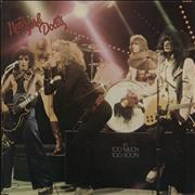 Click here for more info about 'New York Dolls - Too Much Too Soon'