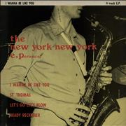 "New York New York I Wanna Be Like You UK 12"" vinyl"