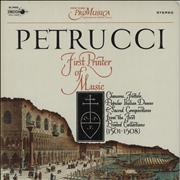 Click here for more info about 'New York Pro Musica - Petrucci: First Printer Of Music'