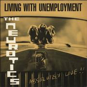 Click here for more info about 'Newtown Neurotics - Living With Unemployment - Yellow Sleeve'