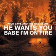 Click here for more info about 'Nick Cave - He Wants You/Babe I'm On Fire'