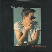 Click here for more info about 'Nick Heyward - Take That Situation - injection moulded'