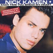 Click here for more info about 'Nick Kamen - Each Time You Break My Heart'