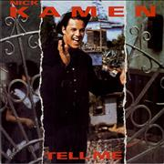 Click here for more info about 'Nick Kamen - Tell Me - Single Pocket'