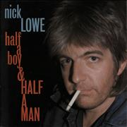 Click here for more info about 'Nick Lowe - Half A Boy & Half A Man'