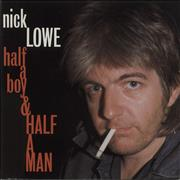 Click here for more info about 'Nick Lowe - Half A Boy And Half A Man'