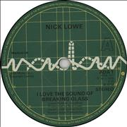 Click here for more info about 'Nick Lowe - I Love The Sound Of Breaking Glass'